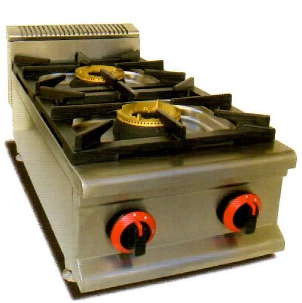 Cocinas a gas semi profesional frigelu for Cocina gas profesional