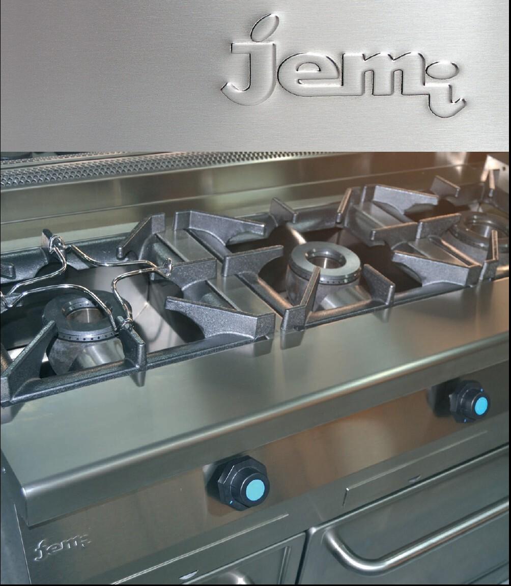 Cocinas industriales jemi frigelu maquinaria hosteler a for Fogones industriales a gas